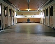Main hall (viewed from stage)